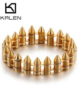 Punk Hip Hop Bike Bullets Bracelets