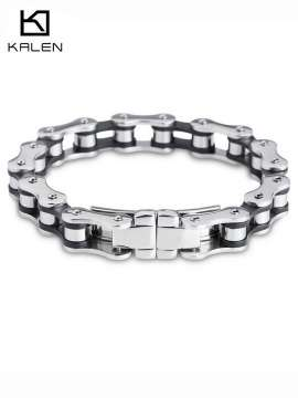 Biker 316L Stainless Steel Mens Sports Jewelry Bike