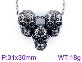 Stainless Skull Pendants